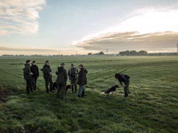Jagers in de Alblasserwaard